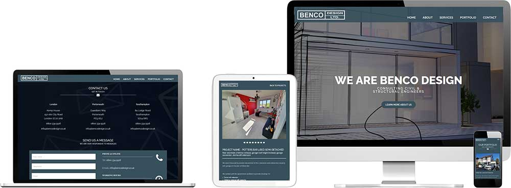 Website case study for Structural Engineer Website Snap