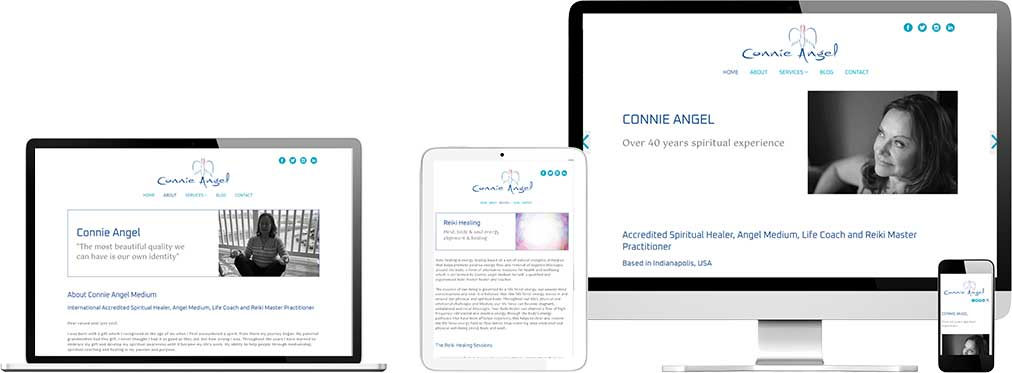 Website case study for International clairvoyant Website Snap