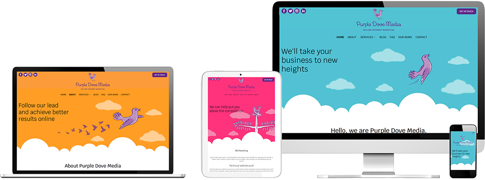 Website case study for Digital Marketing company Website Snap