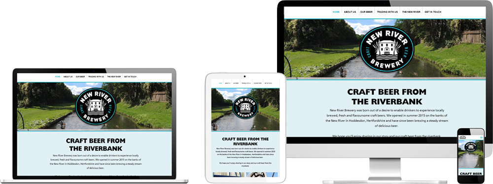 Website case study for Brewery Website Snap
